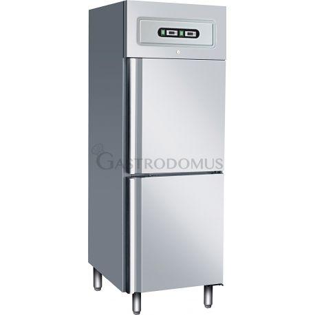 Armadio refrigerato doppia temp. lt237/237 GN2/1 ventilato