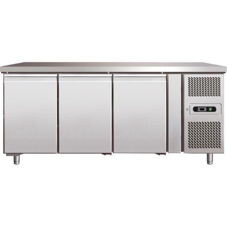 Tavolo refrigerato negativo prof.700 gastronomia GN1/1 ventilato