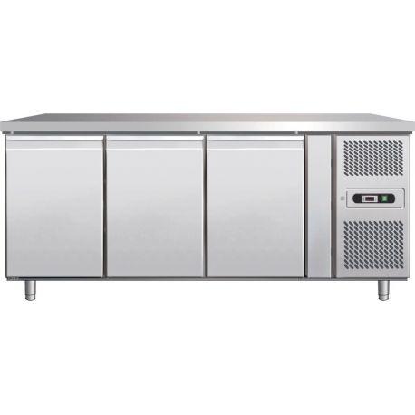 Tavolo refrigerato pasticceria 600lt ventilato per teglie 60x40