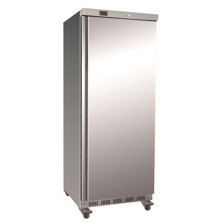 Armadio refrigerato ventilato ECO positivo GN2/1 struttura esterna acciaio inox