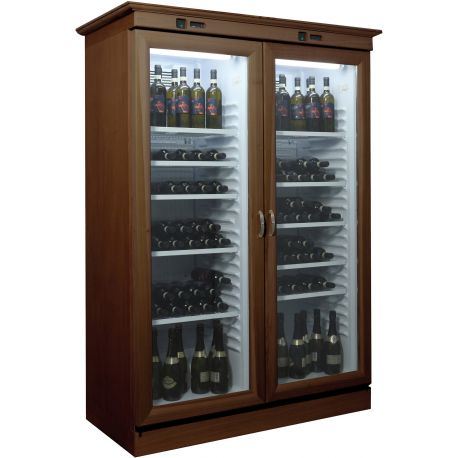 Cantinetta per vini refrigerata statica cap.310+310Lt