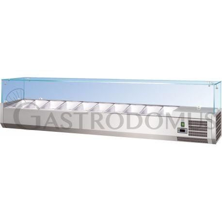 Vetrina refrigerata statica L1500 GN1/3+GN1/2