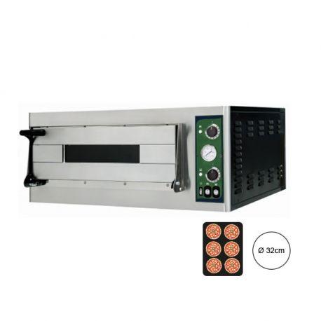 Forno elettrico per 6 pizze Ø 32 - controllo meccanico