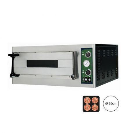 Forno elettrico per 4 pizze Ø 35 -  controllo meccanico