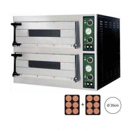 Forno elettrico per 12 pizze Ø 35 - controllo meccanico