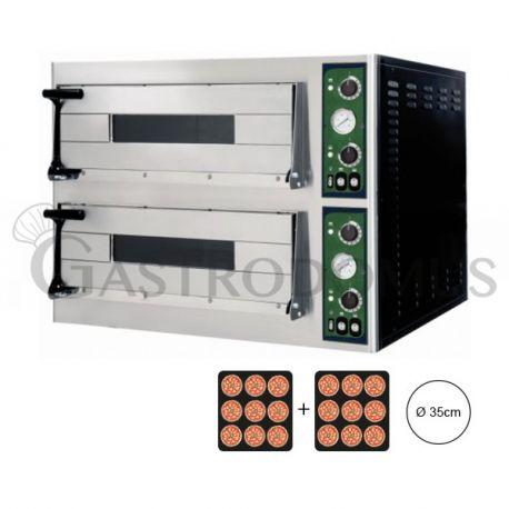 Forno elettrico per 18 pizze Ø 35 - controllo meccanico