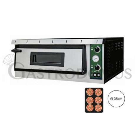 Forno elettrico per 6 pizze Ø 35 - controllo meccanico