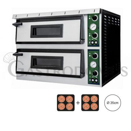 Forno elettrico - per 8 pizze Ø 35 - controllo meccanico