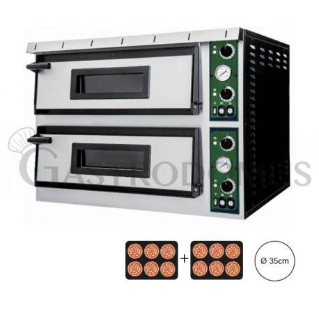 Forno elettrico per 12 pizze Ø 35- controllo meccanico