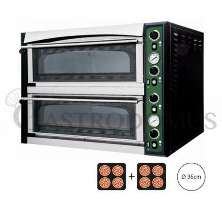 Forno elettrico per 8 pizze da Ø 35 - controllo meccanico