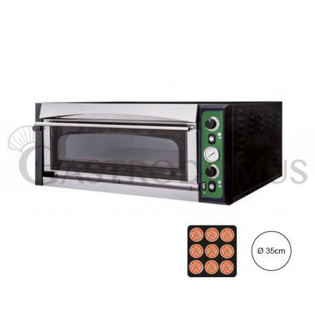 Forno elettrico per 9 pizze da Ø 35 - controllo meccanico