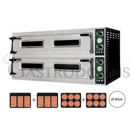 Forno elettrico per 6 teglie 60x40 o 12 pizze Ø 40 - controllo meccanico