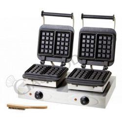 Piastra per waffle - doppia...