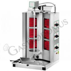 Gyros professionale elettrico 3+3 resistenze
