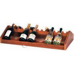 Espositore vini in legno L 680 mm x P 460 mm x H 190 mm