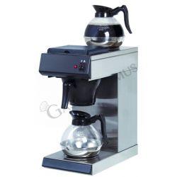 Macchina per caffè in acciaio inox con capacità 1,6 litri e doppio ripiano riscaldante