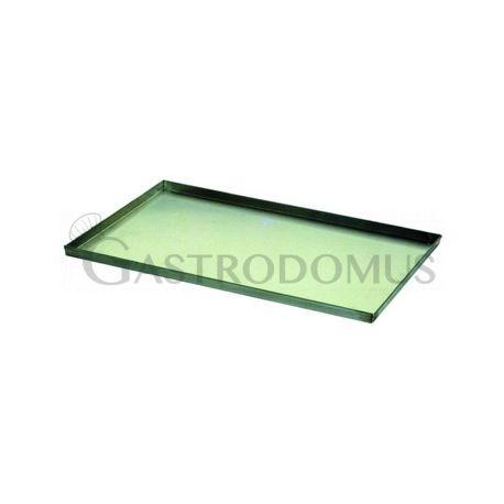 Teglia quadrata teflonata 600 mm x 400 mm x altezza 20 mm