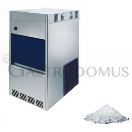 Produttore di ghiaccio granulare kg 100/24h