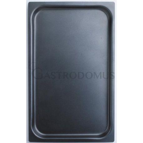 Teglia quadrata in alluminio con antiaderente GN1/1 - 530 mm x 325 mm x H 40 mm
