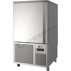 Abbattitore digitale 10 teglie GN1/1 o 10 griglie 60 x 40 - Temp. amb +35°C 65%Rh