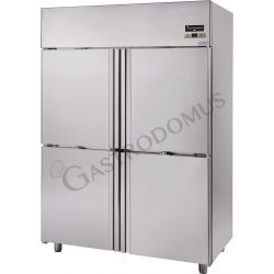 Armadio refrigerato 1400 Lt. temp. -2/+10° 4 porte