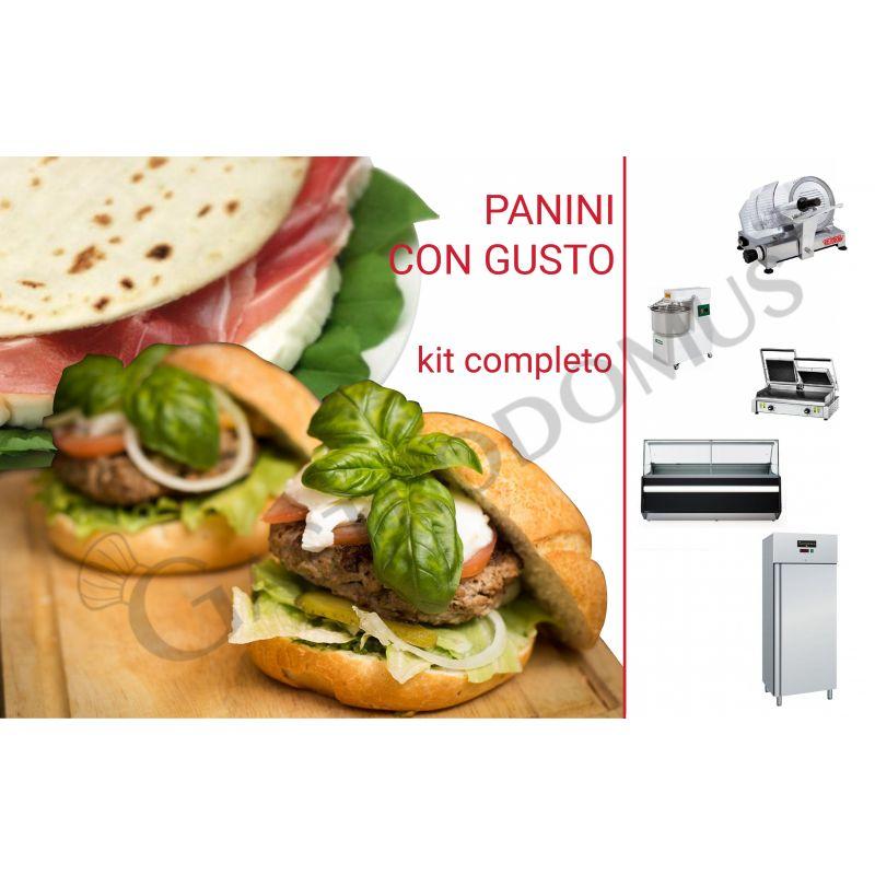 Kit completo PANINOTECA
