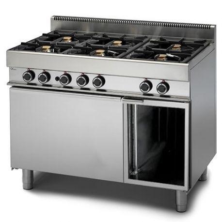 Cucina a Gas 6 fuochi forno a Gas armadio neutro