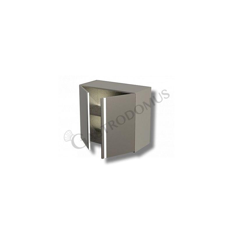 Pensile 2 porte battenti 1 ripiano H 650 Prof. 400 Lungh. 900
