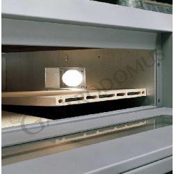 Forno elettrico Professional per 12 pizze diam. 30/34 cm - 2 camere - controllo digitale