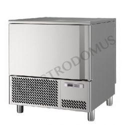 Abbattitore di temperatura per gelateria predisposto per 5 teglie GN1/1 o 600 x 400