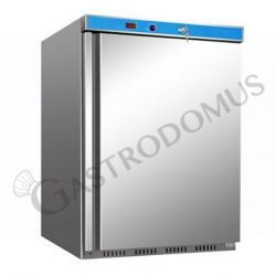 Armadio refrigerato statico ECO - temperatura +2°C/+8°C - capacità 130 LT - in INOX