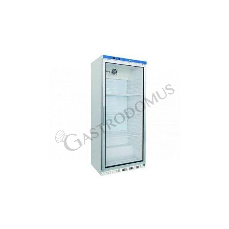 Armadio refrigerato statico - porta vetro - temperatura +2°C/+8°C - capacità 570 LT