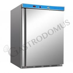 Armadio refrigerato statico ECO - temperatura -18°C/-22°C - capacità 120 LT - in INOX