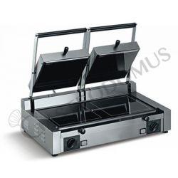 Piastra cottura vetroceramica doppia liscia - 3000 W