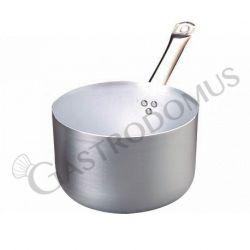 Casseruola alta in alluminio, fondo induzione, 1 manico, diametro 28 cm e altezza 16 cm