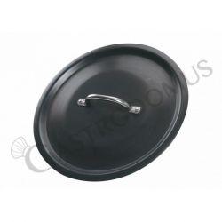 Coperchio in alluminio per pentole a induzione, diametro 24 cm