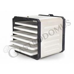 Essiccatore 500 W, L 270 mm x P 260 mm x H 350 mm, termostato manuale