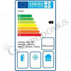 Armadio refrigerato statico ECO - temperatura -18°C/-22°C - capacità 340 LT