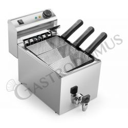 Cuocipasta elettrico da banco - 1 vasca - capacità 8 LT