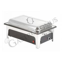 Chafing dish elettrico per contenitori GN1/1 di altezza 100 mm