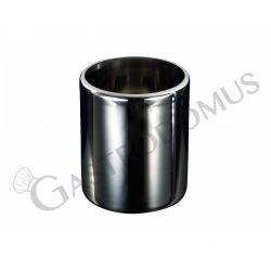 Carapina gelateria per banchi a pozzetto - diametro 200 mm e spessore 0,8 mm