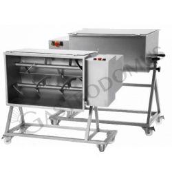Impastatrice per carne bipala con capacità massima 120 Kg