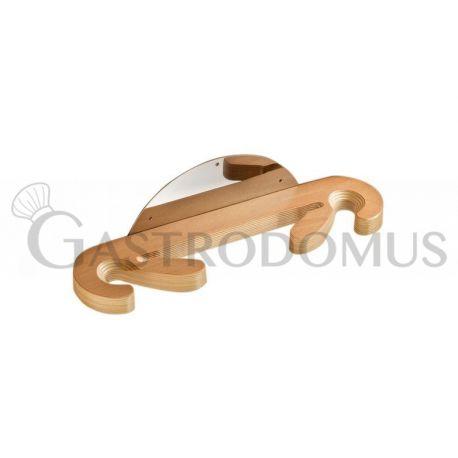 Supporto per pala pizza 3 posti L 47 cm x P 11 cm x H 12 cm