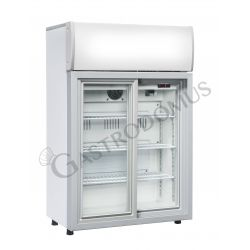 Armadio a refrigerazione roll-bond per bibite - capacità 85 LT - porta scorrevole - temp. da 0° C a 10° C