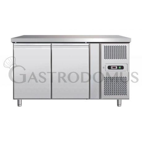 Tavolo refrigerato pasticceria - 390 LT - per teglie 60 x 40