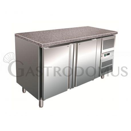 Tavolo refrigerato pasticceria - 413 LT - piano in granito