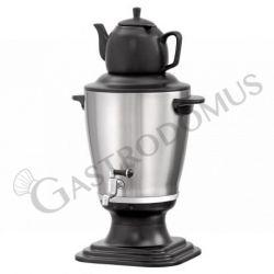 Teiera samovar in acciaio inox e plastica capacità 3,2 Litri