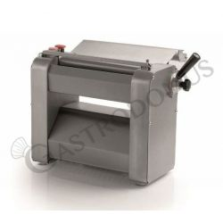 Sfogliatrice trifase L 550 mm x P 350 mm x H 400 mm con rulli in acciaio inox 320 mm
