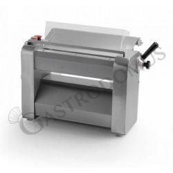 Sfogliatrice trifase L 640 mm x P 350 mm x H 400 mm con rulli in acciaio inox 400 mm