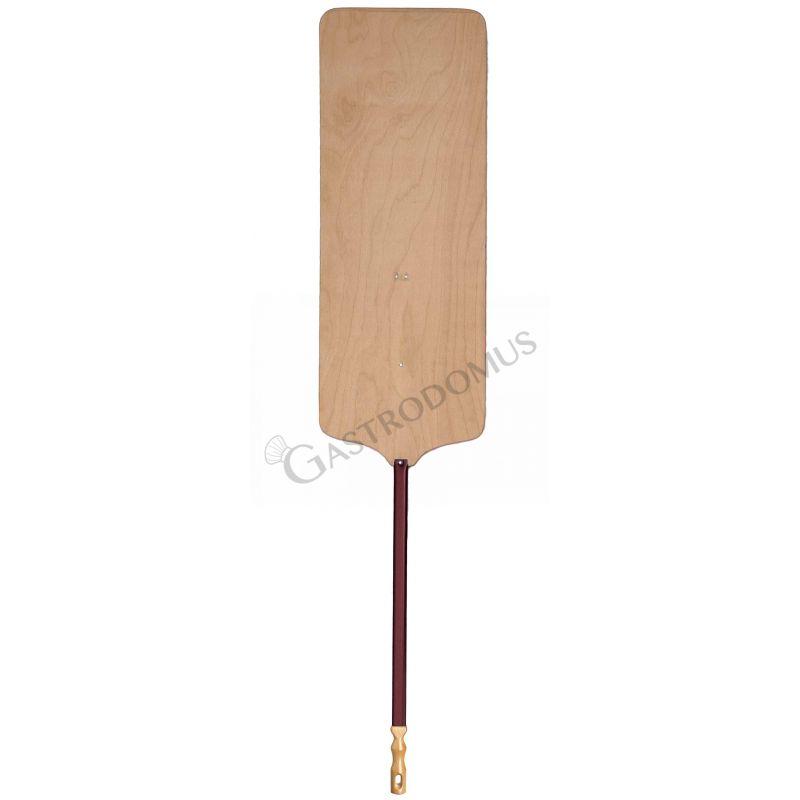 Pala per pizza al metro in legno 36 x 80 cm - altezza 170 cm